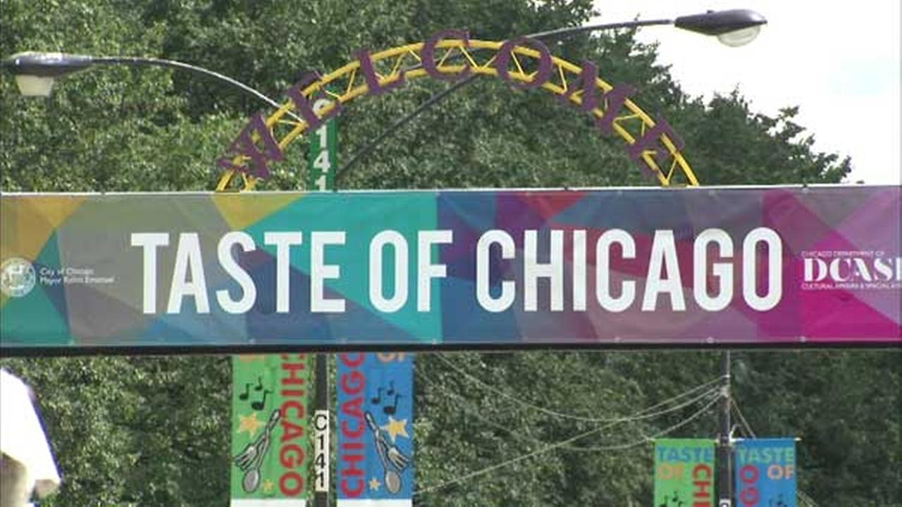 Taste of Chicago gets underway Wednesday