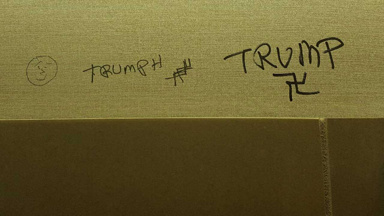 Graffiti of Trump name, swastikas found at Northbrook libraryNorthbrook Public Library