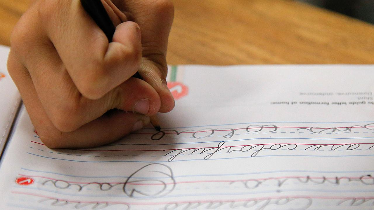 Cursive comeback: Handwriting lessons now required in 14 states