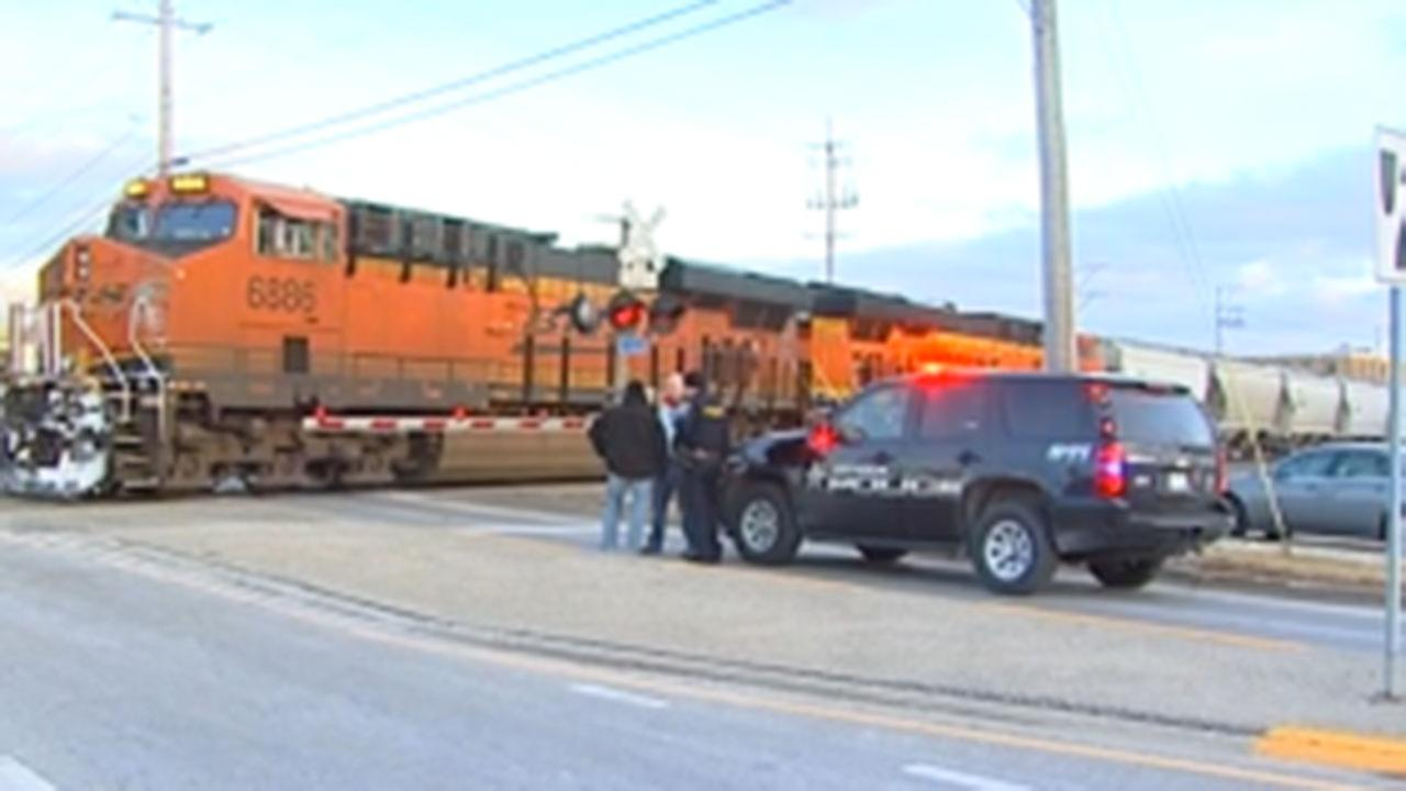 Pedestrian struck by freight train in Antioch