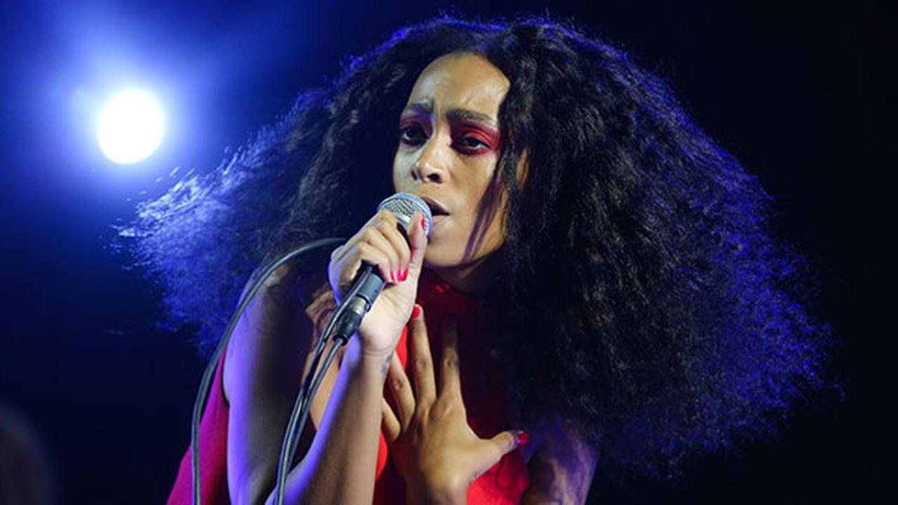 Solange performs during FYF Fest at L.A. Memorial Sports Arena and Exposition Park on Sunday, Aug. 23, 2015, in Los Angeles.