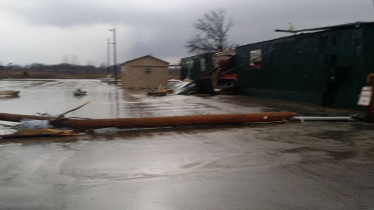 Tornado damage at LaSalle County Nursing Home on Feb. 28, 2017@EquinoxWeather/Twitter