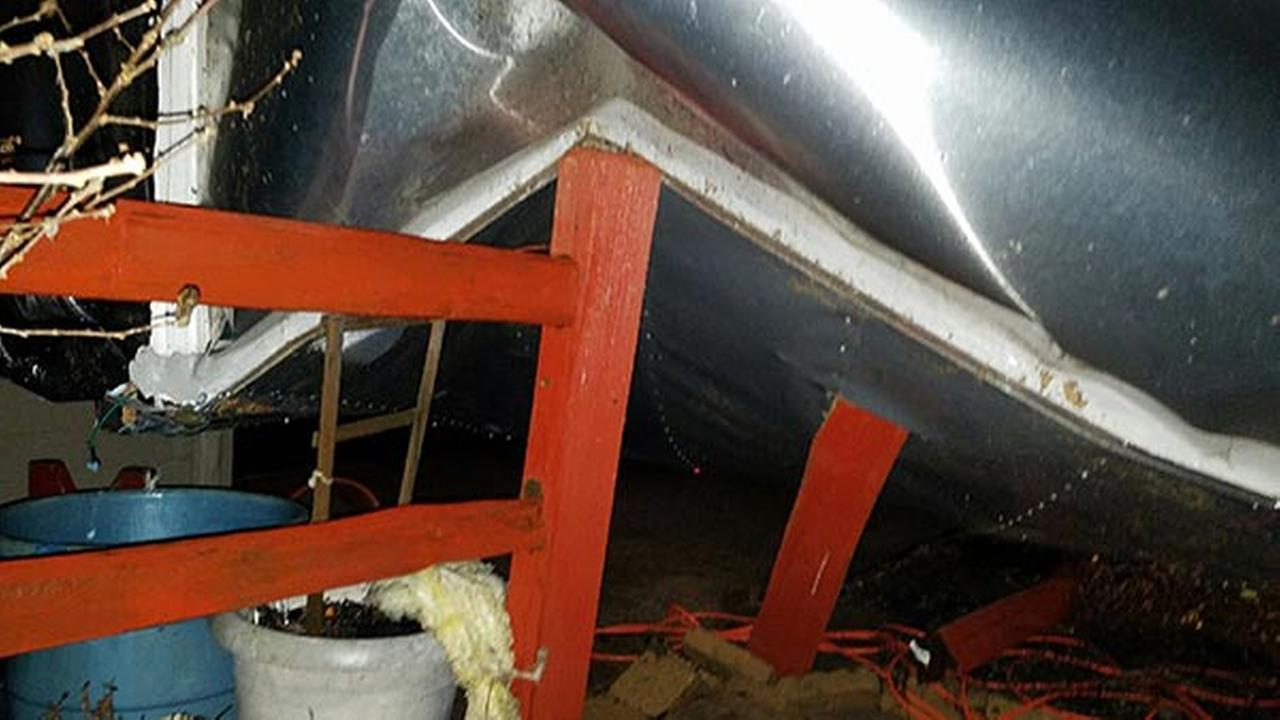 Damage from severe storms in Oregon, Ill.Courtesy of Kim Hutcherson