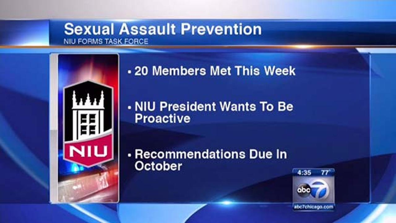 NIU task force proactive on sexual assault prevention