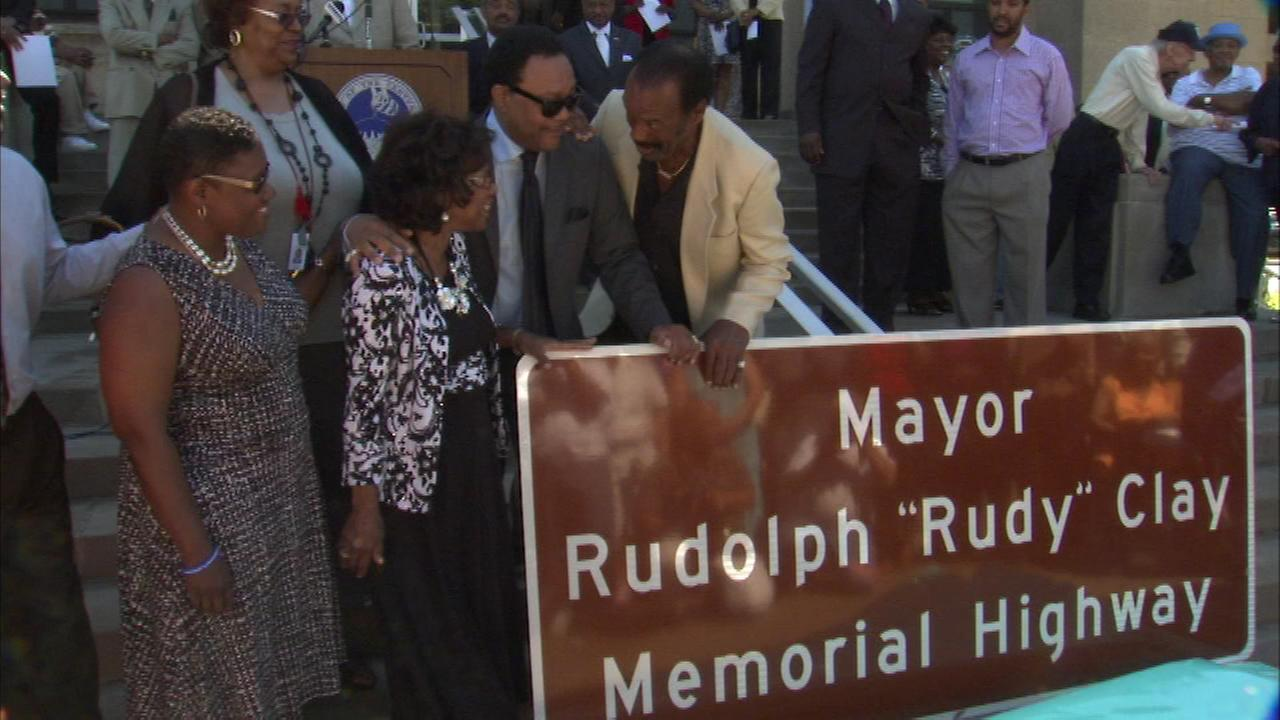 A portion of US 20 through Gary, Indiana has a new name to honor former Mayor Rudolph Rudy Clay.