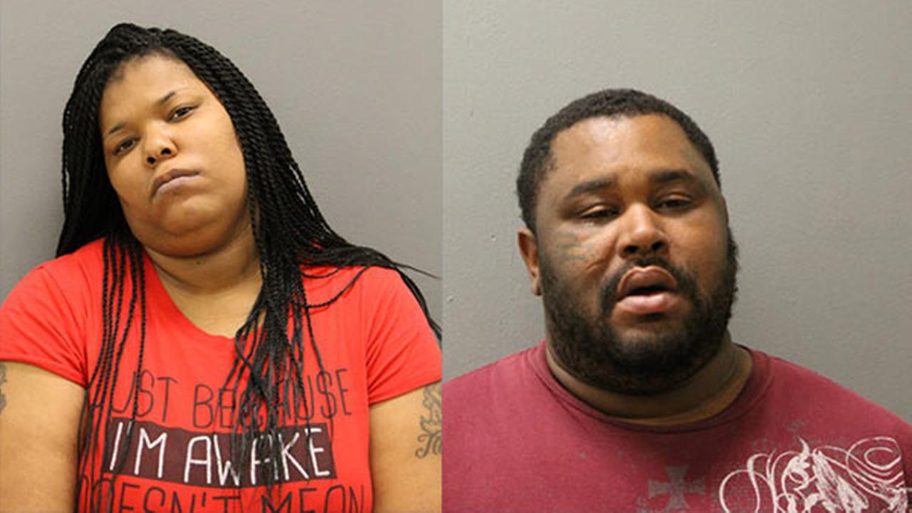 Gwenddolyn Holloway, 28, and Michael Riley, 34.
