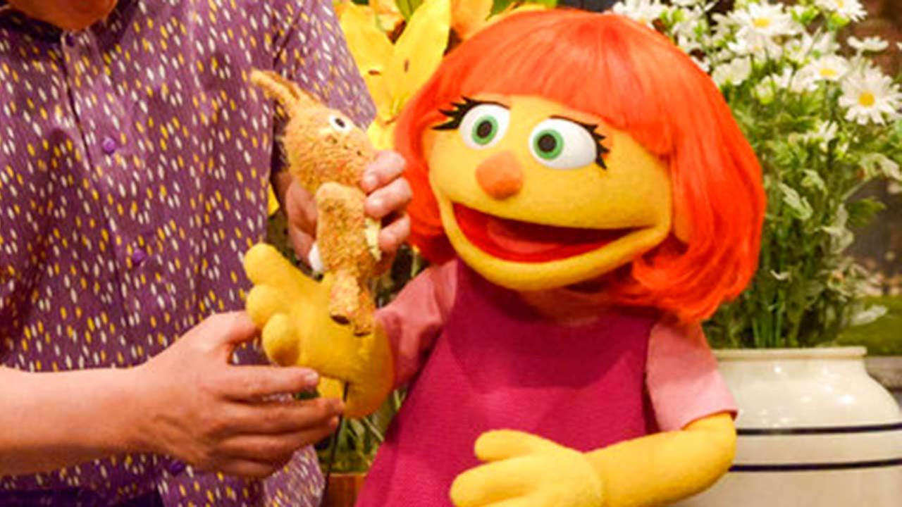 Image result for sesame street autism
