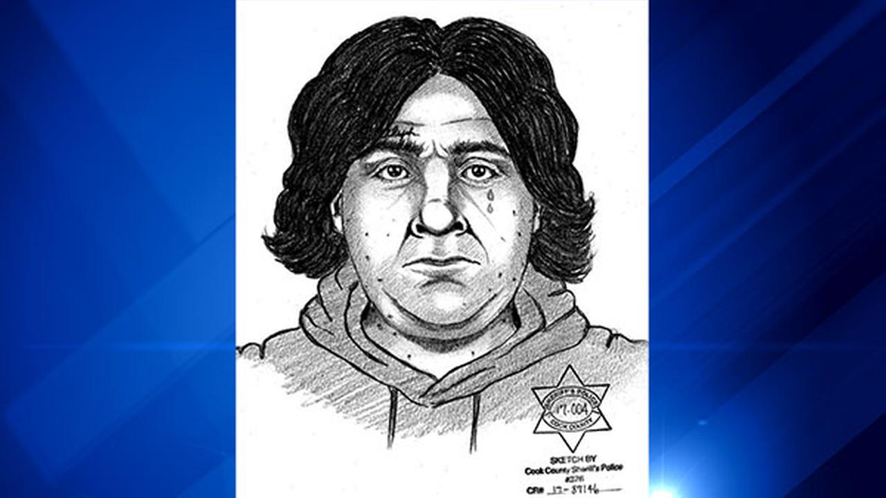 Sketch of the suspect wanted for trying to force himself on a woman in Blue Island. | Blue Island police