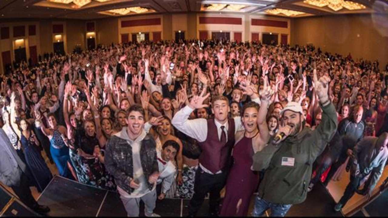 The Chainsmokers prom crash