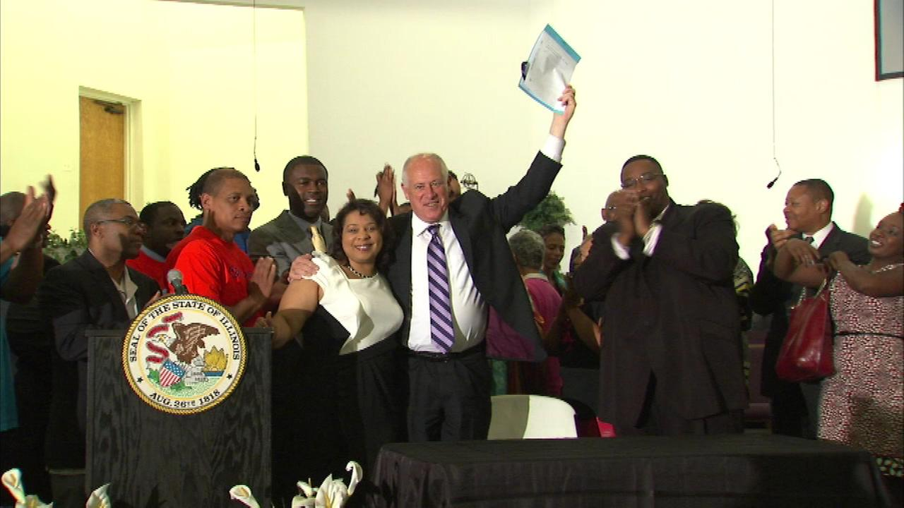 Governor Pat Quinn signed the legislation that prevents criminal background checks until after an applicant is deemed qualified for a job and chosen for an interview.