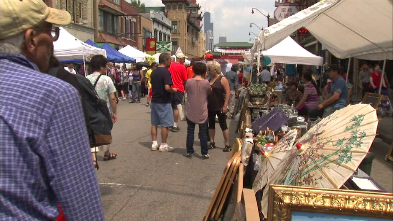 Thousands gather in Chicago for the annual Chinatown Summer Fair.