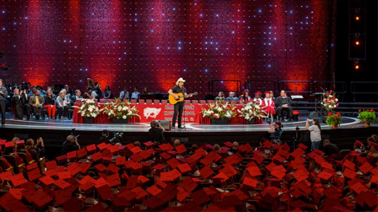 Brad Paisley Barrington High School graduation