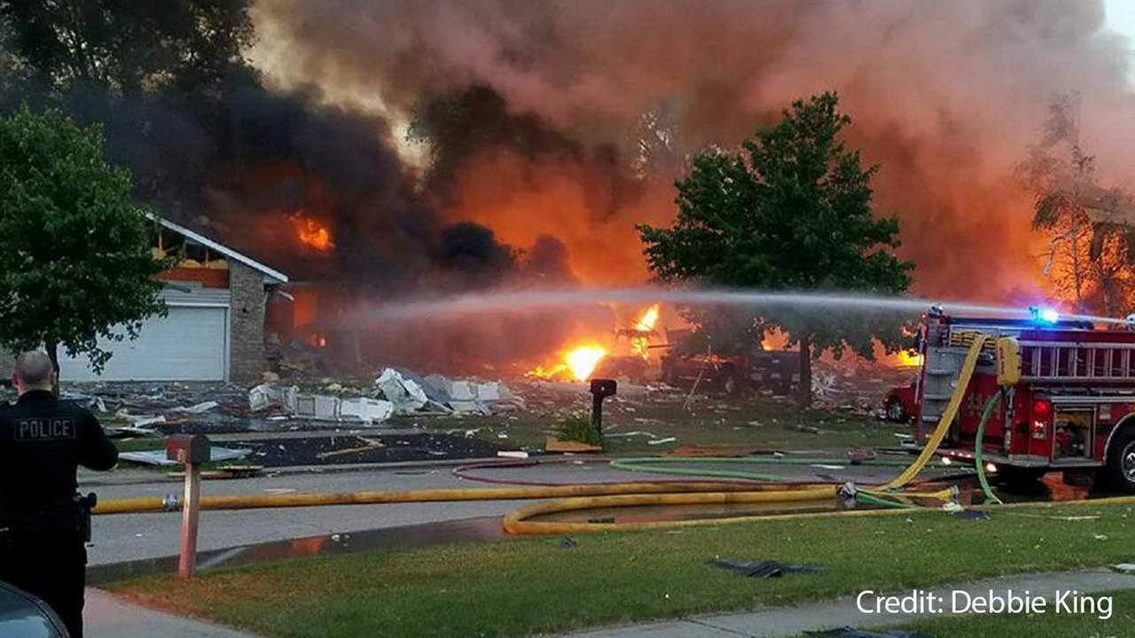 More than 50 homes damaged after Marengo home explosion