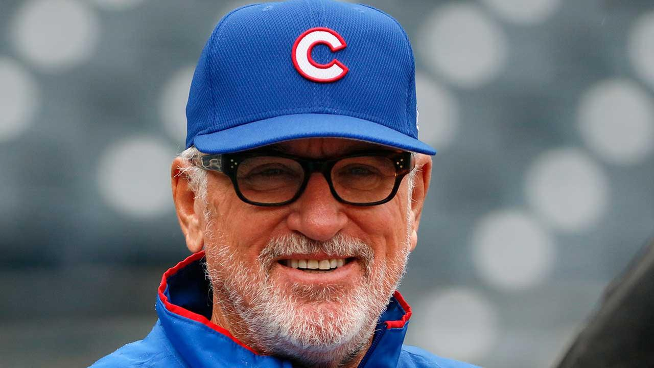 Cubs Joe Maddon opens playground in Pennsylvania hometown