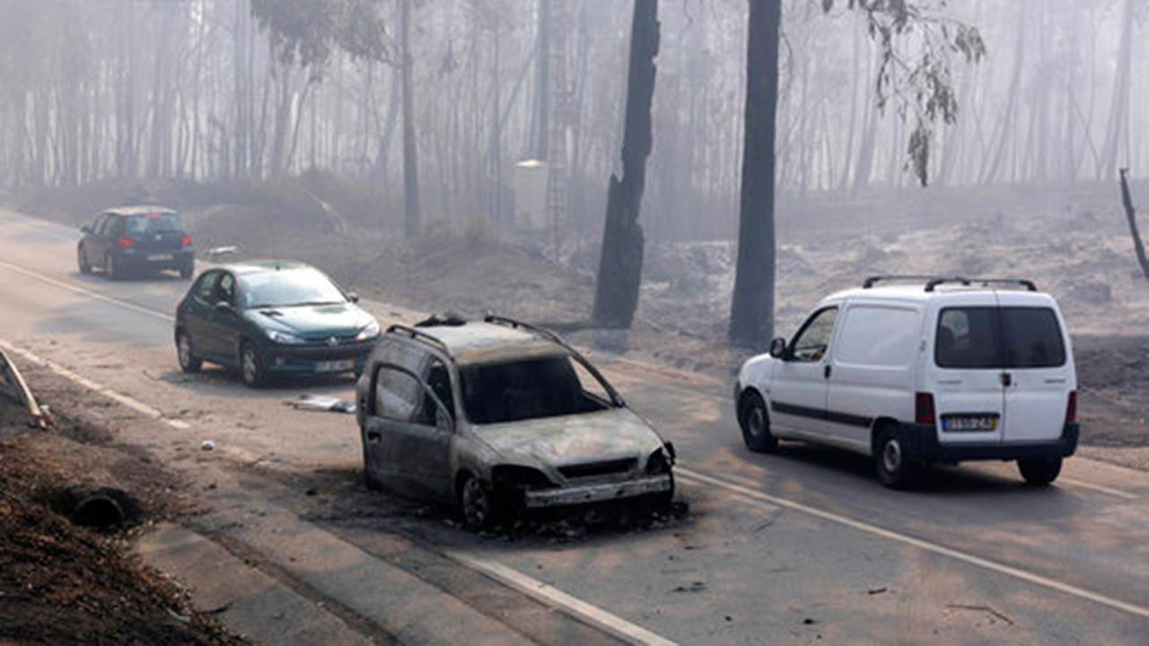 62 dead in Portugal forest fires