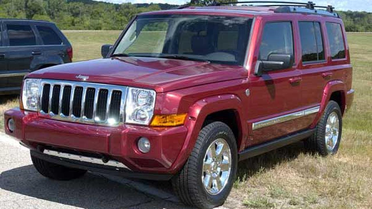 In this file photo, the 2006 Jeep Commander sits on display at Chelsea Proving Grounds in Chelsea, Mich.