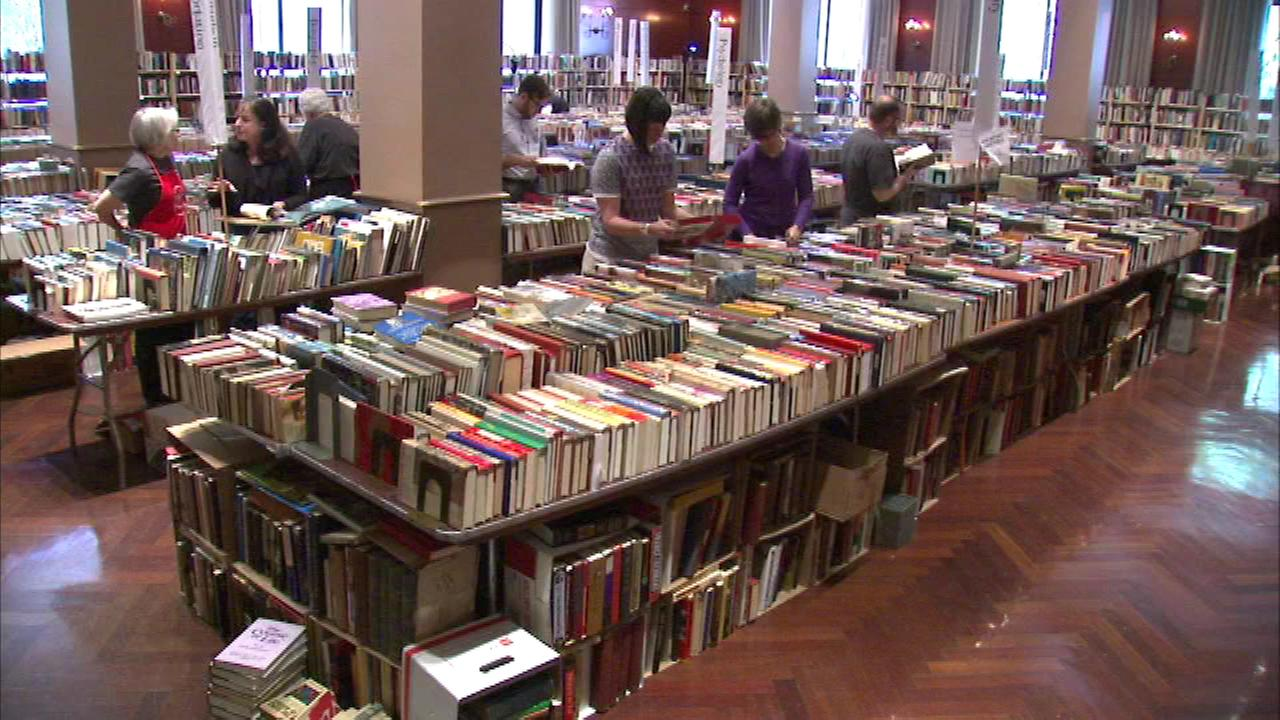 The annual Newberry Book Fair began Thursday and it is being called Chicagos biggest book binge.