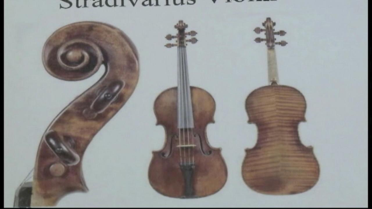 A Milwaukee man whose stun gun was used in the theft of a $5 million Stradivarius violin is sentenced to three and a half years in prison.
