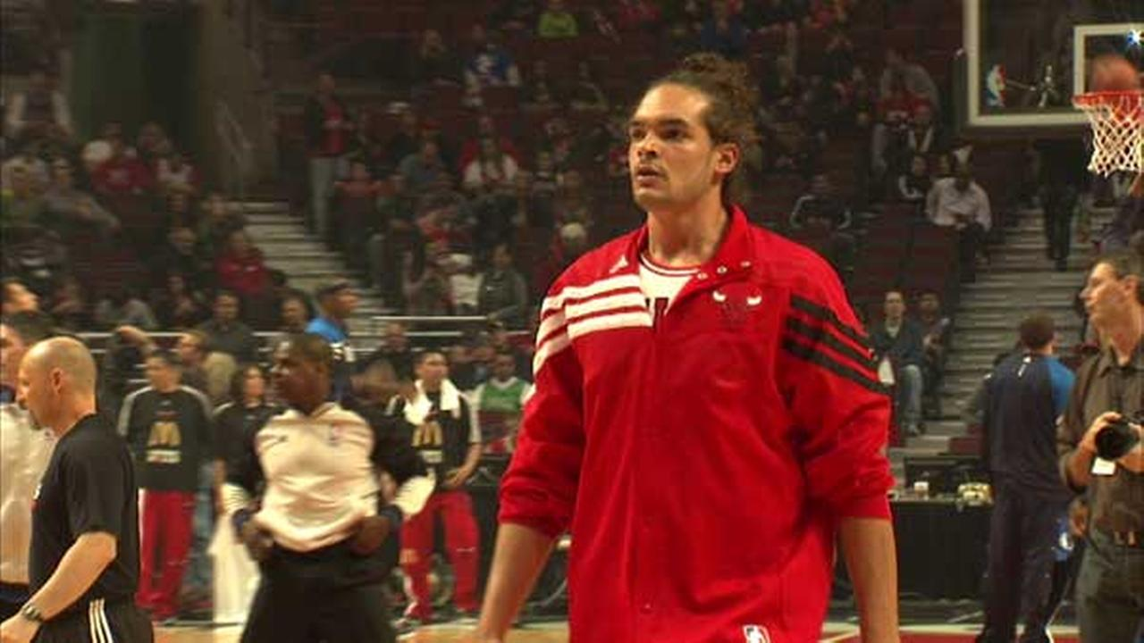 Chicago Bulls center Joakim Noah.