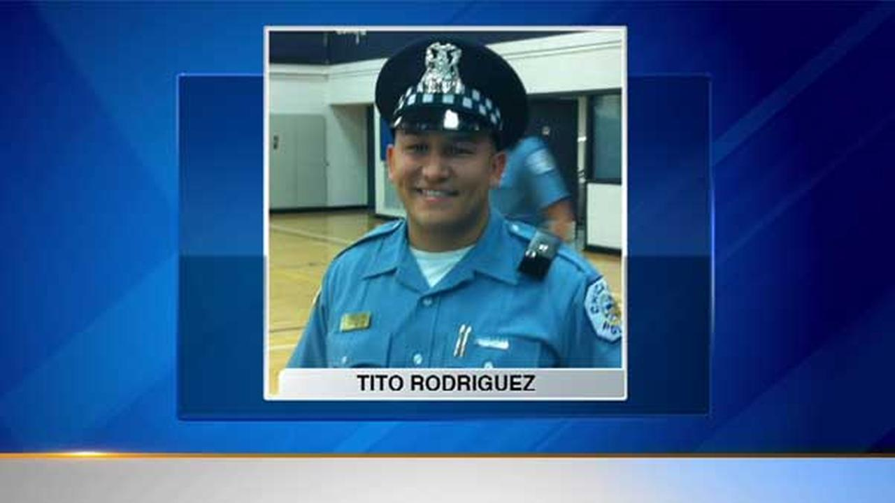 Chicago Police Officer Tito Rodriguez, 28.