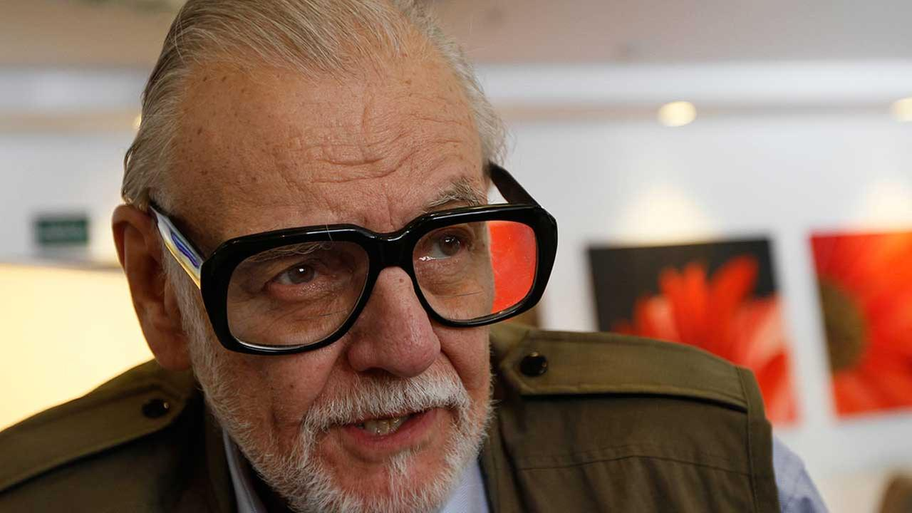 Film director George A. Romero