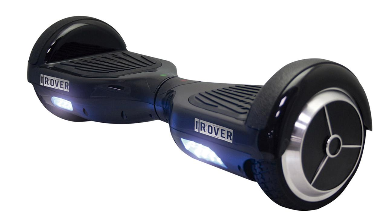 The recalled iRover hoverboard.