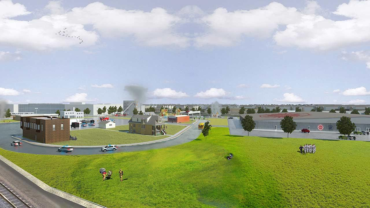 City Plan For New First Responder Training Facility On