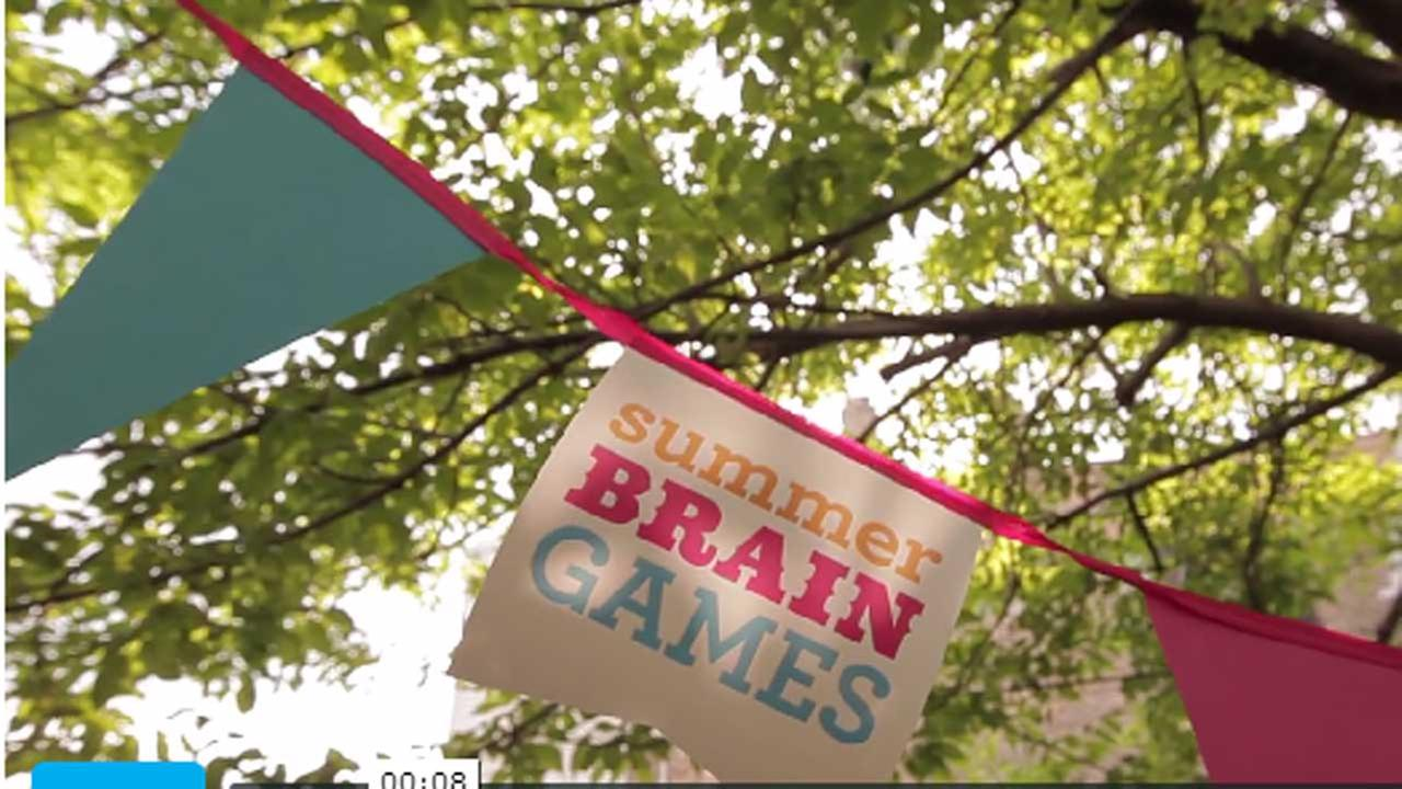 Museum of Science and Industrys Summer Brain Games program