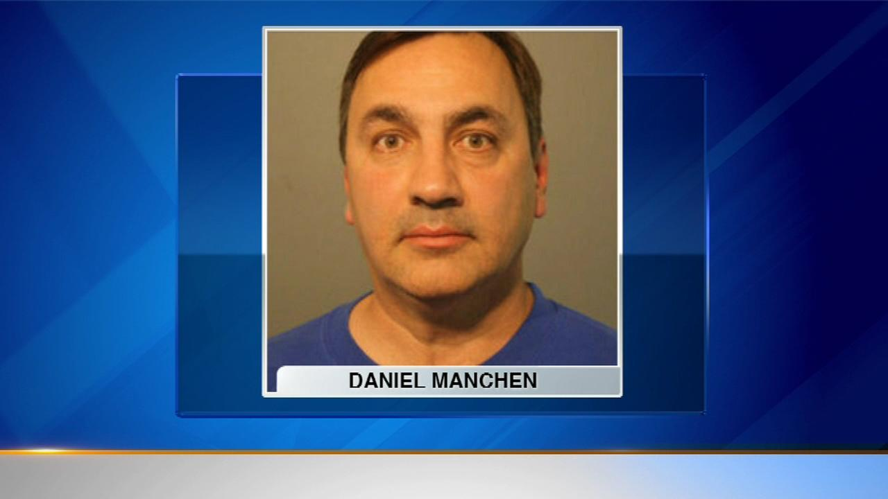 Daniel Manchen is charged with residential burglary.