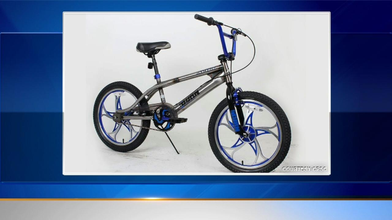 The Consumer Product Safety Commission says some Avigo youth bicycles have a defect that can cause riders to fall.