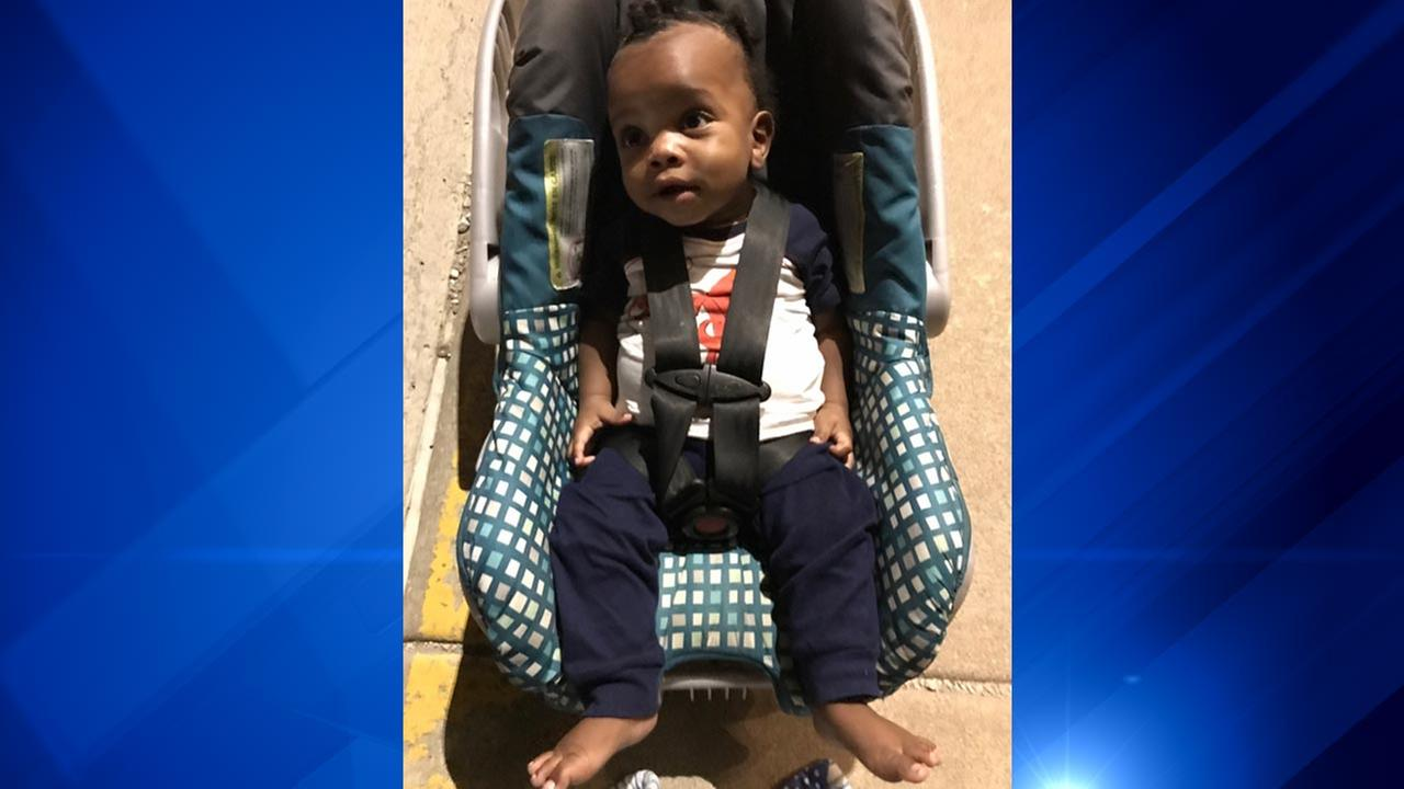 Area police find abandoned baby boy near apartments