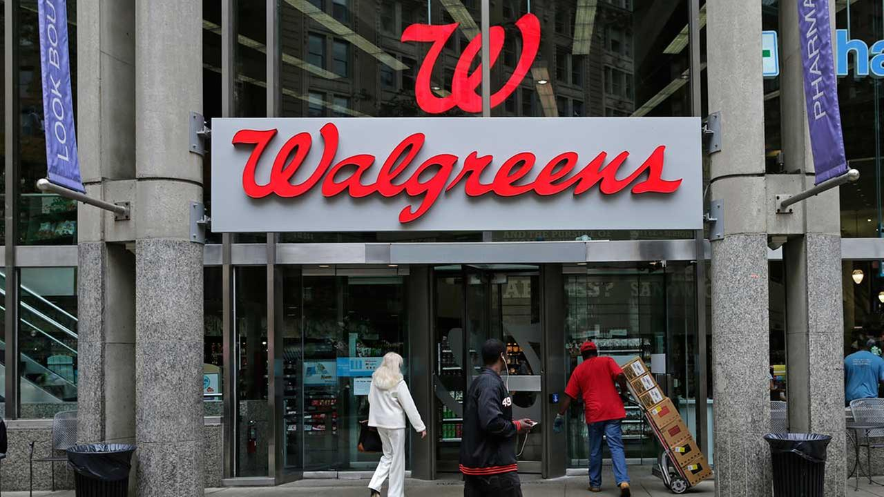 (FILE) A Walgreens store in Boston on June 4, 2014.