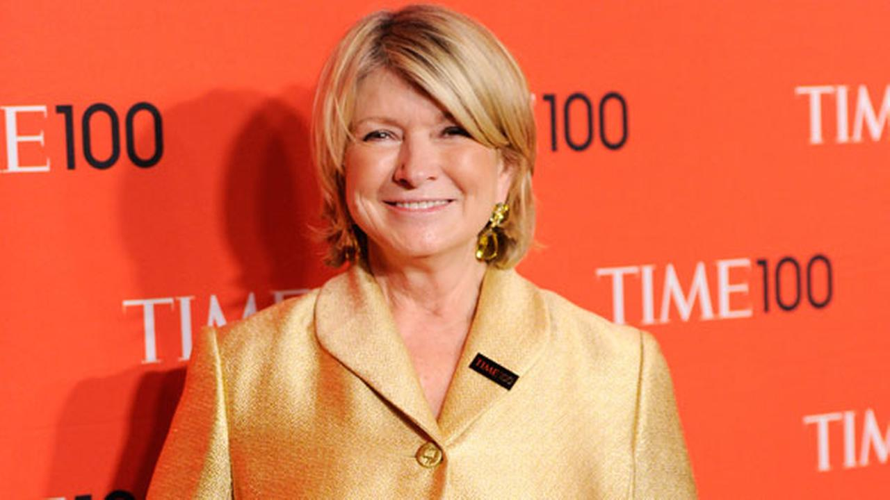 Martha Stewart arrives at the 2014 TIME 100 Gala held at Frederick P. Rose Hall, Jazz at Lincoln Center on April 29, 2014 in New York.