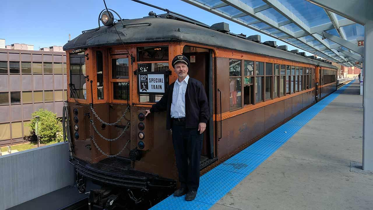 The CTA is marking its 70th anniversary with special train cars, including one from 1923.