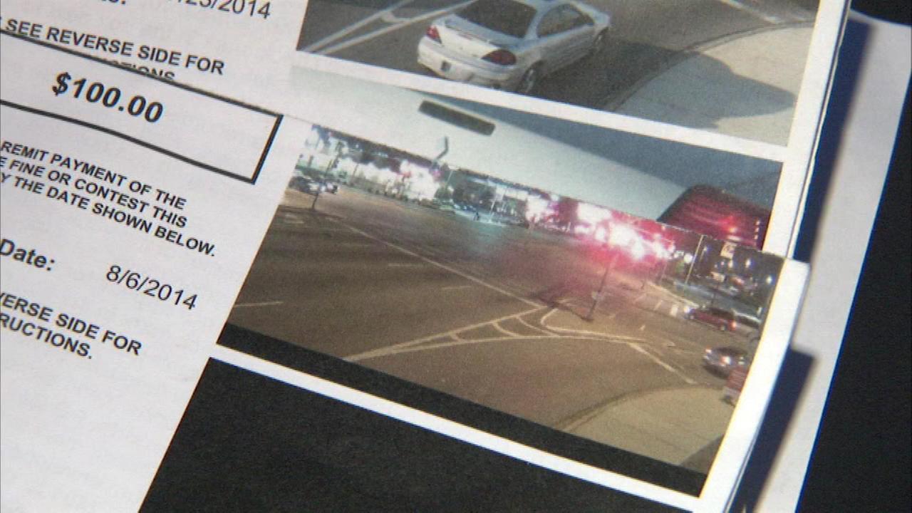 North Riverside red light camera glitch?