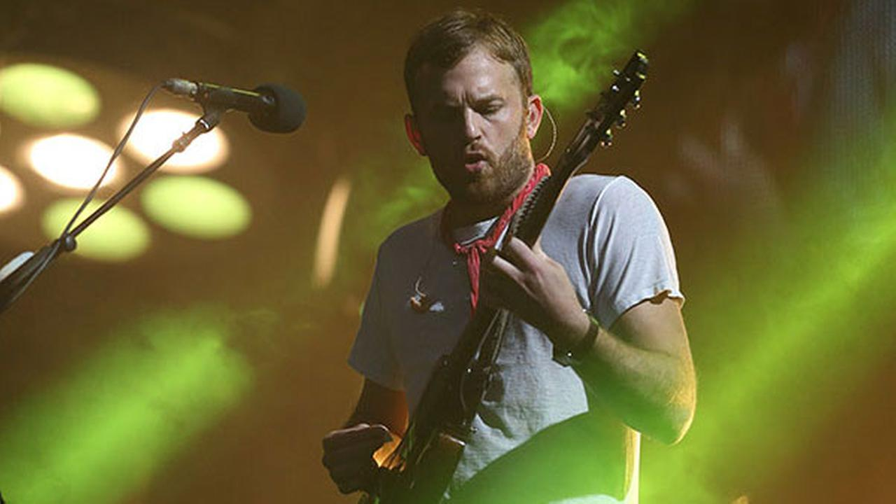 Caleb Followill of Kings of Leon performs at Lollapalooza in Chicagos Grant Park on Sunday, Aug 3, 2014.