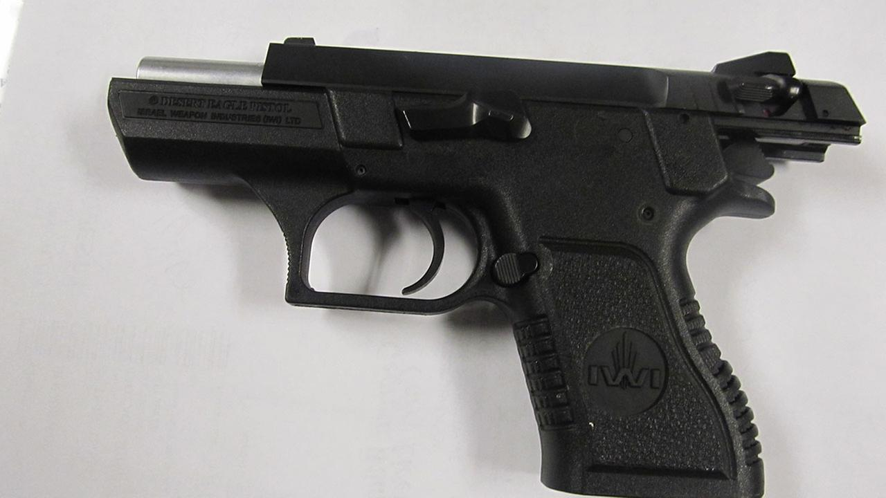 This loaded 9mm Desert Eagle firearm was discovered by the Transportation Security Administration (TSA) in the carry-on luggage of a 35 year-old male passenger at Midway Airport.
