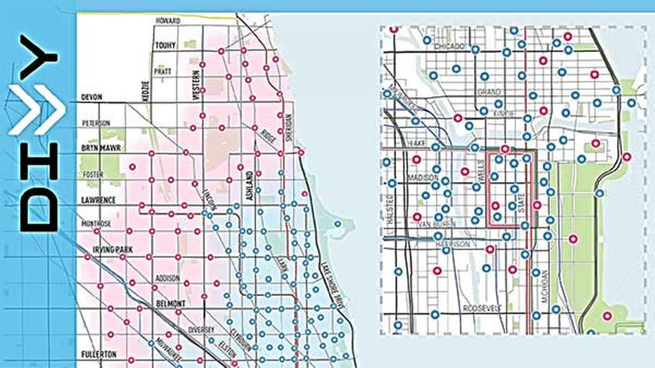 Divvy Chicago Map Divvy Chicago Map | States Maps