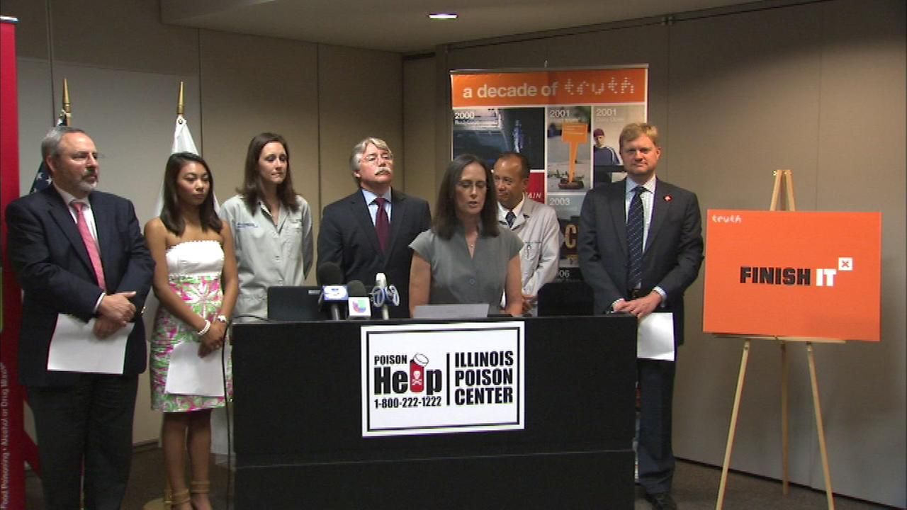 Illinois Attorney General Lisa Madigan is teaming up with Legacy, a public health foundation that works to prevent smoking among youth.