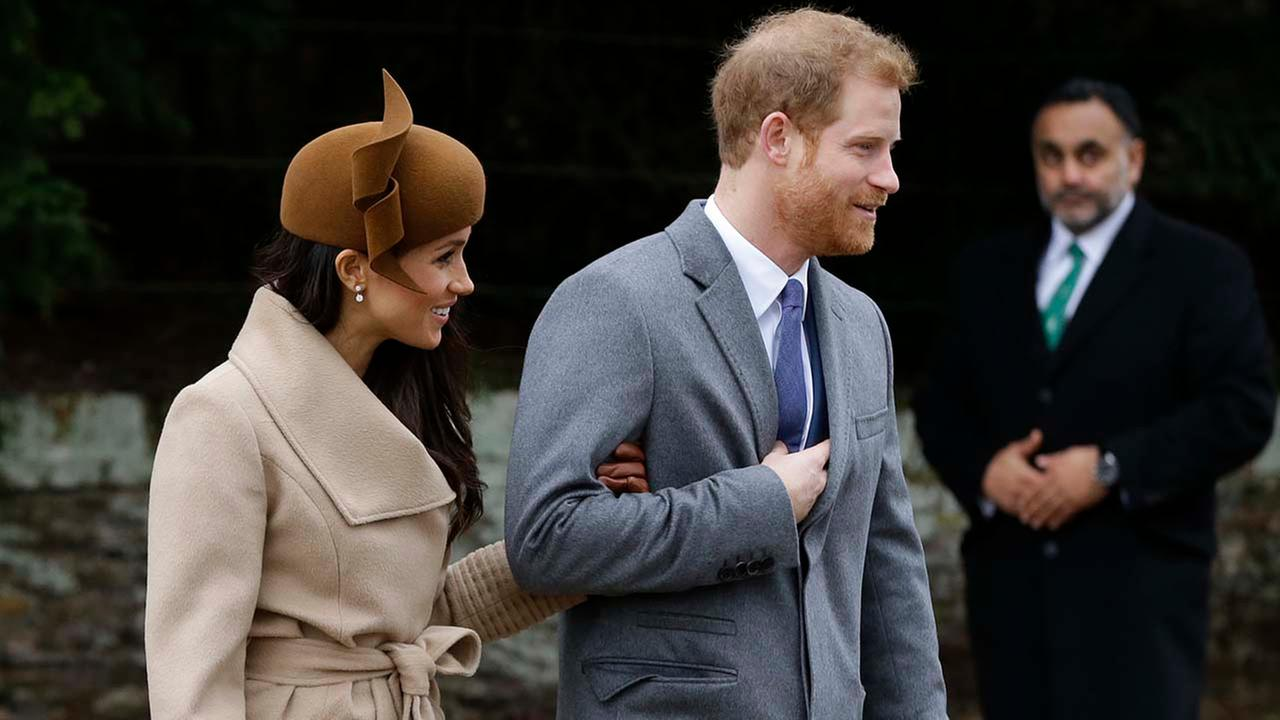 Meghan Markle joins British royal family celebrating Christmas