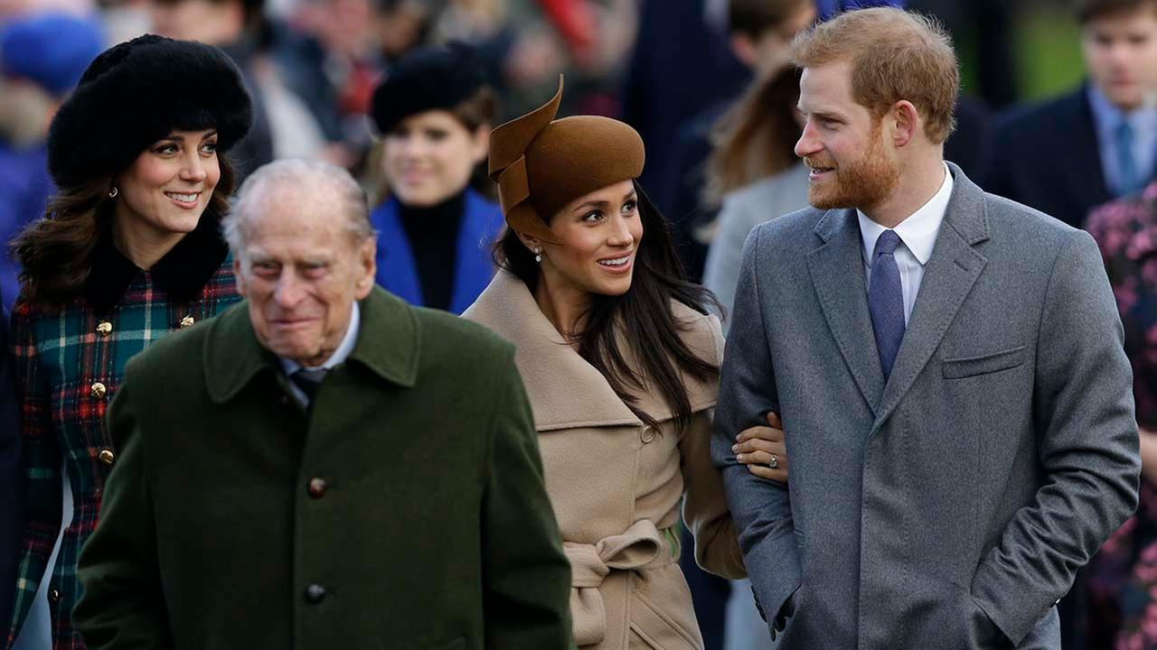 Prince Harry said the Royals are the 'family Meghan never had'