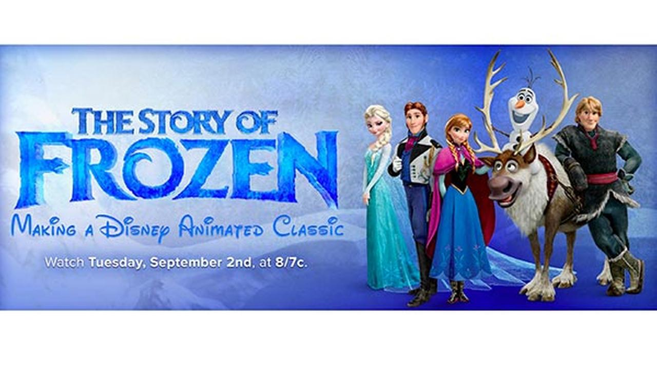 'The Story of Frozen' behind the scenes special airs Tuesday on ABC
