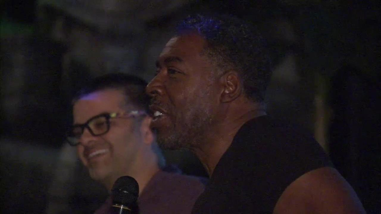 Ernie Hudson was on hand Friday night for a screening of Ghostbusters at the Hollywood Palms in Naperville.