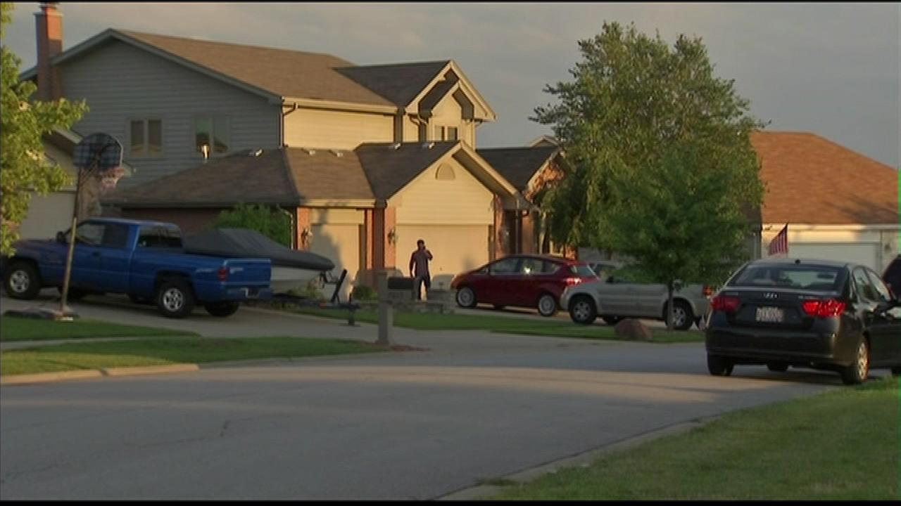 A 1-year-old child drowned in at a backyard pool in southwest suburban Tinley Park.