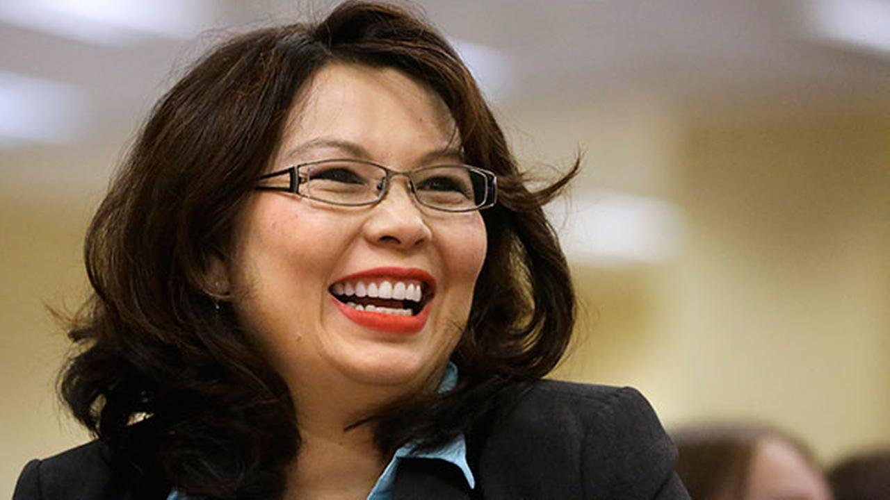 U.S. Rep. Tammy Duckworth, D-Ill., at the Illinois Democratic County Chairmens Associations annual state fair Governors Day brunch on Wednesday, Aug. 13, 2014.