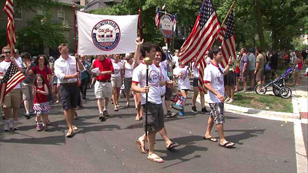 Labor Day Parades: Woogms Parade
