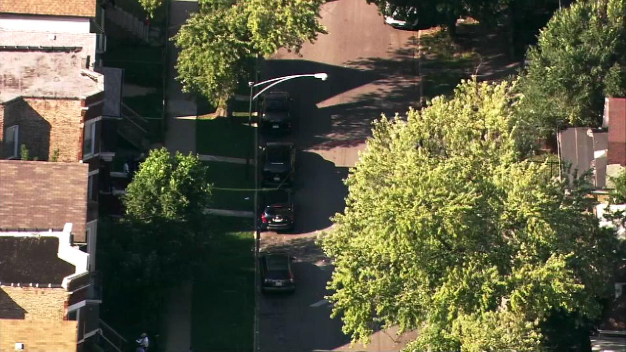 Two people were shot Monday afternoon in the 5400-block of South Laflin on Chicagos South Side.