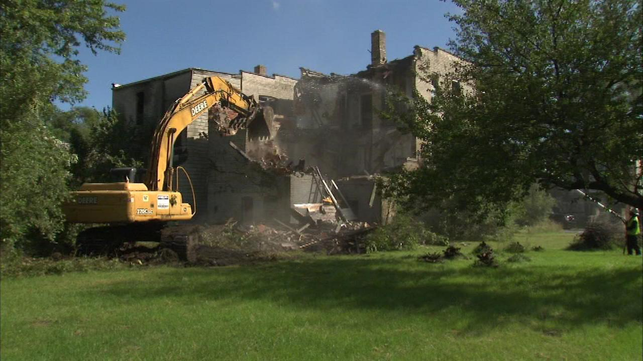 A demolition project that could help revive communities in Gary, Indiana, is underway.