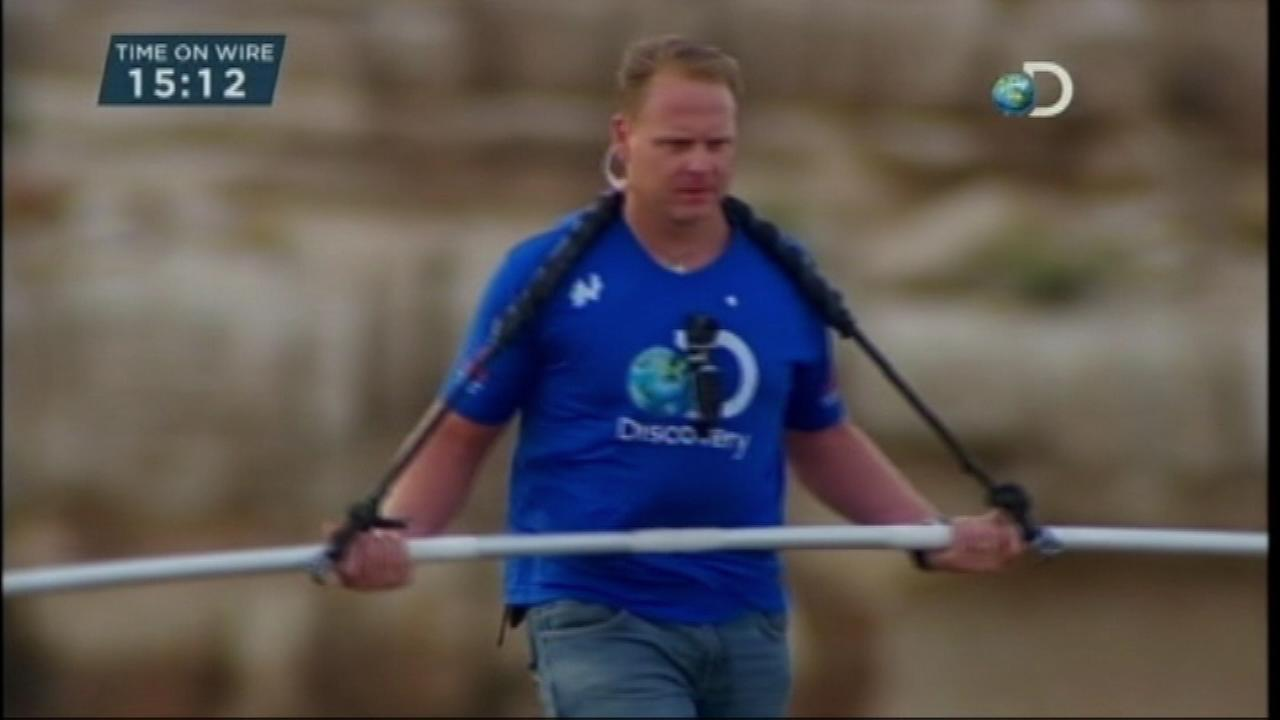 Daredevil Nik Wallenda said Tuesday that his next tightrope walk will be more than 50 stories high from one high-rise building to another over the Chicago River.