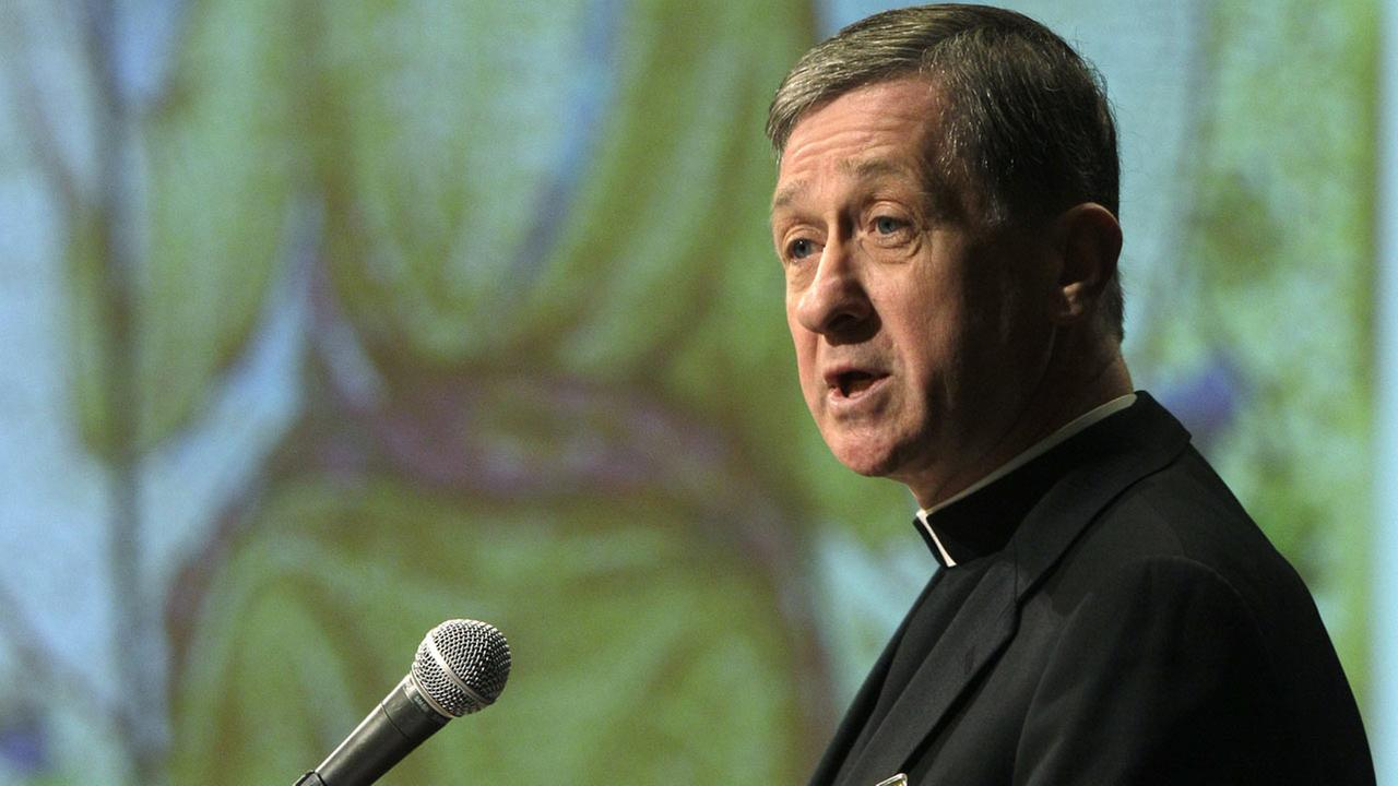 (FILE) Bishop Blase Cupich, of Spokane, Wash., on June 15, 2011.